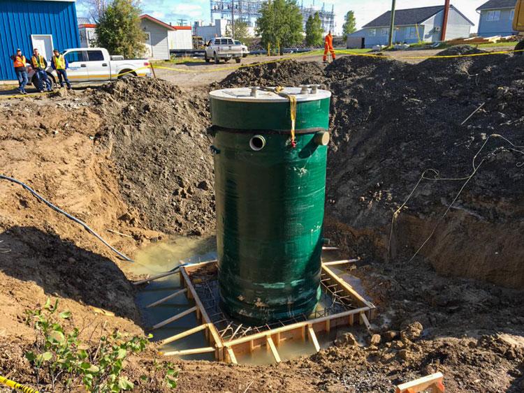 Manitoba Hydro Generating Station Image